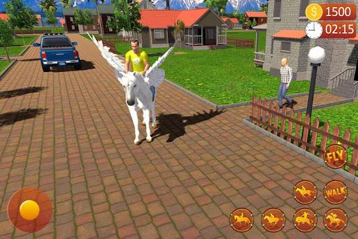 PC u7528 Flying Horse Taxi Driving: Unicorn Cab Driver 2