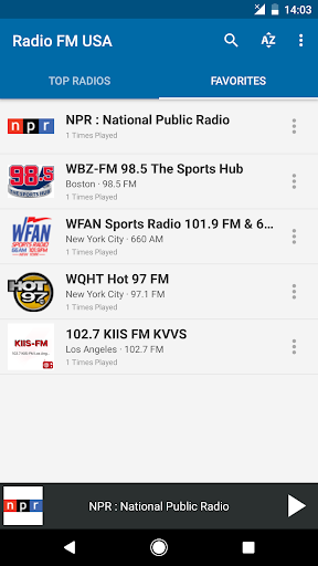 Radio FM USA 6.1 screenshots 4