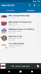 Radio FM USA- screenshot thumbnail