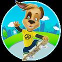 Pooches: Skateboard icon
