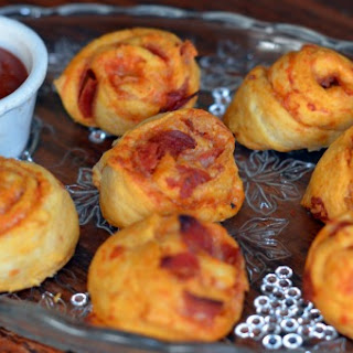Pepperoni Pizza Pinwheels