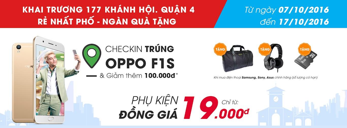 Khai trương CellphoneS 125 Lê Văn Việt, Quận 9