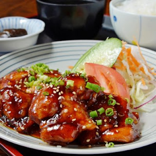 Saucy Sesame Teriyaki Chicken
