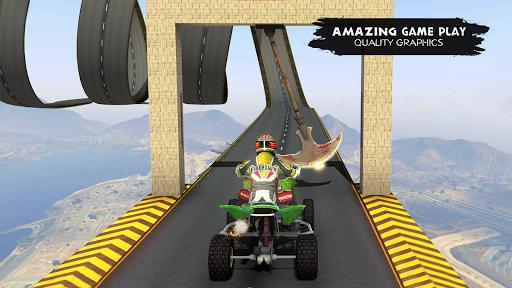 ATV Quad Bike Simulator 2019: Quad stunts Bike 4x4 screenshots 10
