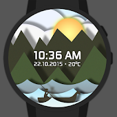 Time Sailor Animated Watchface