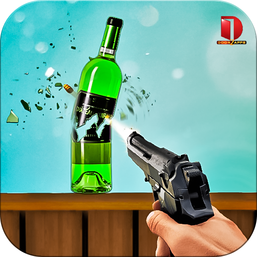 Real Bottle Shooting Free Games icon