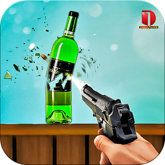 Real Bottle Shooting Free Games
