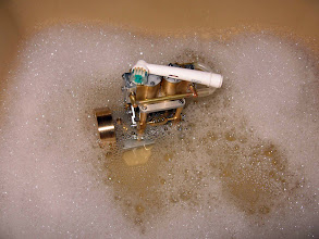 Photo: toujours dans son bain