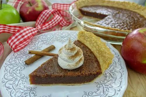 "Apple Butter Pie ""This would be a great pie for your kids..."