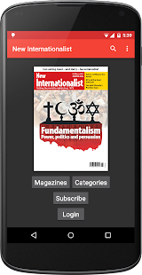 New Internationalist magazine- screenshot thumbnail
