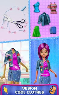 Patch It Girl! - Design DIY Patches & Clothes- screenshot thumbnail