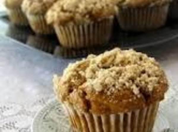 Sweet Potato Struesel Muffins Recipe