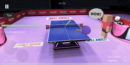 Table Tennis ReCrafted! android2mod screenshots 10