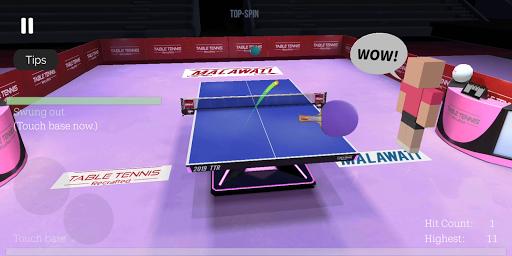 Table Tennis ReCrafted! apktram screenshots 10
