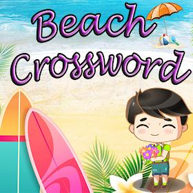 Beach Crossword puzzle