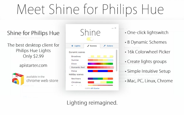 Shine for Philips Hue