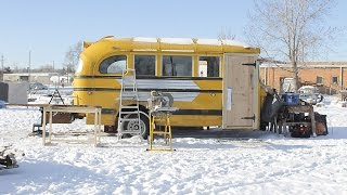 Tiny School Bus Abode