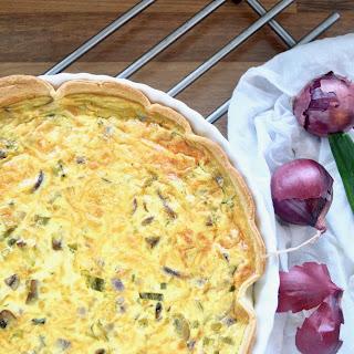 Spring Vegetable Savoury Tart Recipe