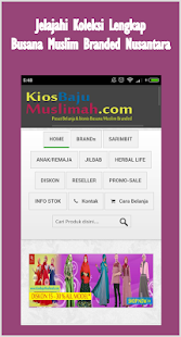 KiosBajuMuslimah- gambar mini screenshot