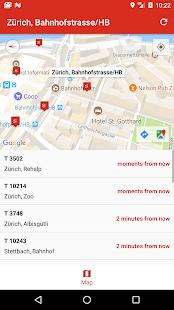 SBB Fahrplan - náhled