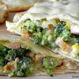 Chicken and Broccoli Pie Pockets.