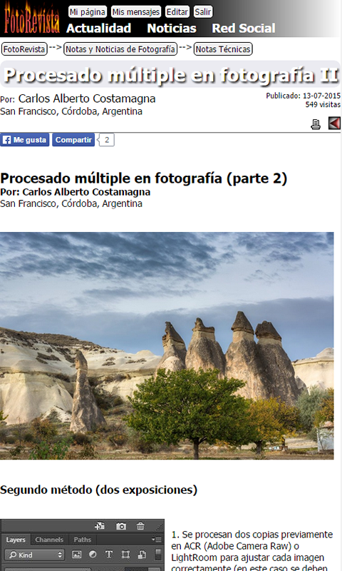 FotoRevista- screenshot