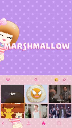 玩免費漫畫APP|下載Marshmallow ☁️ iKeyboard Theme app不用錢|硬是要APP
