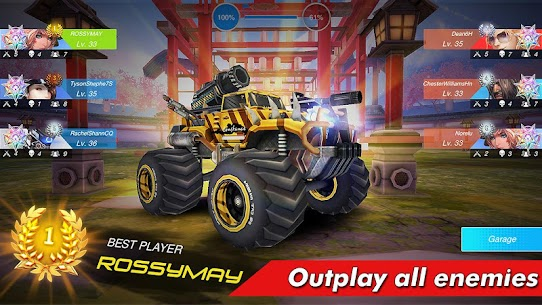 Overload Twisted Action: PvP Cars Racing Shooter 8
