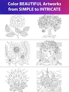 Color Matters Coloring Book Therapy For Adults Screenshot Thumbnail