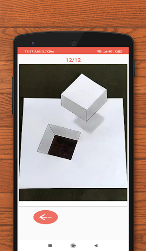 How to Draw 3D - 3D shapes drawing 10.0 Screenshots 4