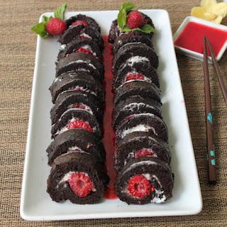 "Raspberry ""Sushi"" Roll"