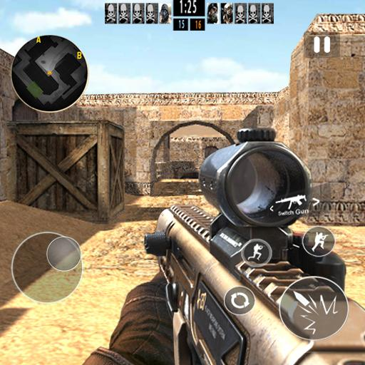 Counter Terrorist Sniper Shoot MOD APK | GOD MODE | UNLIMITED COINS