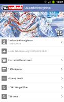 Screenshot of Saalbach Hinterglemm
