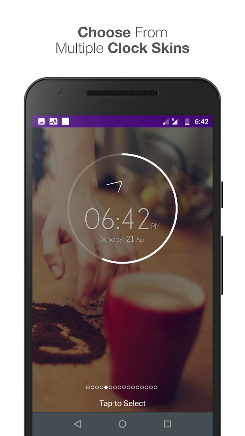 Knock lock screen - Applock Screenshot 9