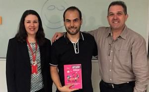 Vignochi sorteou um exemplar do livro