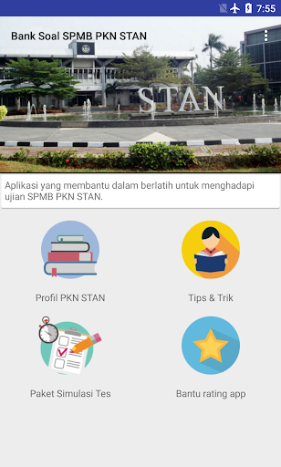 Screenshot 1 Bank Soal SPMB PKN STAN 2019