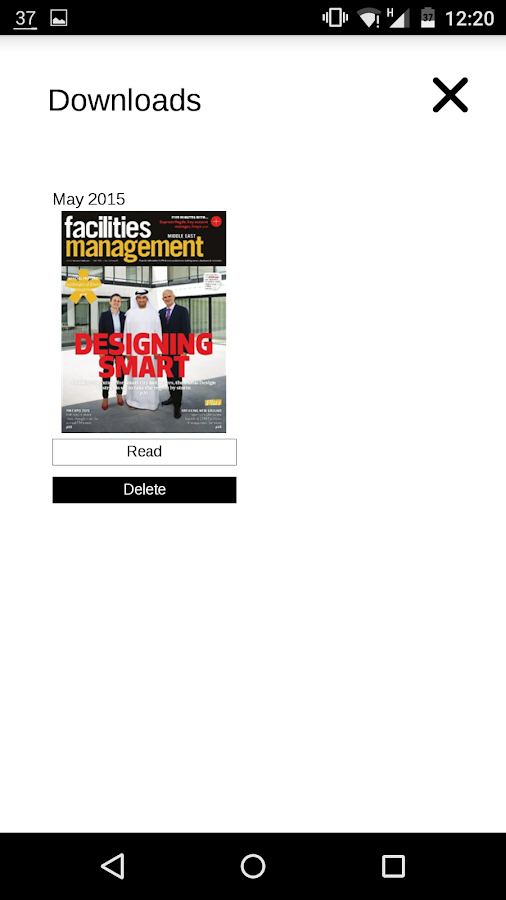 Facilities Management ME- screenshot