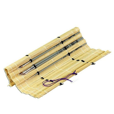 Bamboo Brush Carrying mat