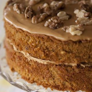 Coffee and Walnut Cake Recipe