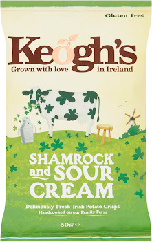 Keogh's Crisps - Shamrock And Sour Cream