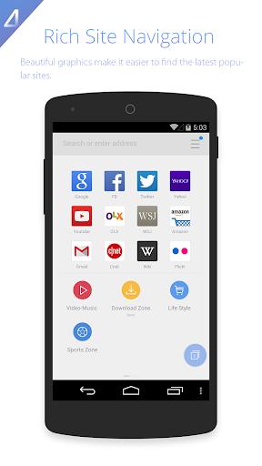 UC Browser HD screenshot 4