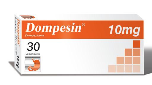 Domperidona Dompesin 10 mg x 30 Comprimidos Dollder 10 mg x 30 Comprimidos
