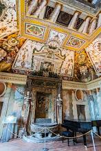 """Photo: The Fountain Room or """"Sala della Fontana"""" in Villa d'Este in Tivoli, Lazio, Italy"""