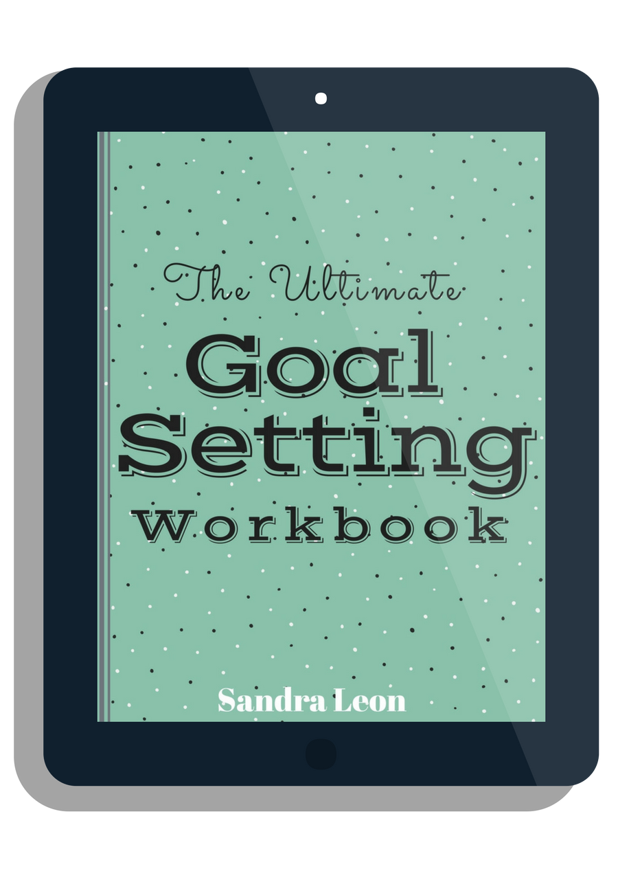 A workbook that teaches you how to set goals