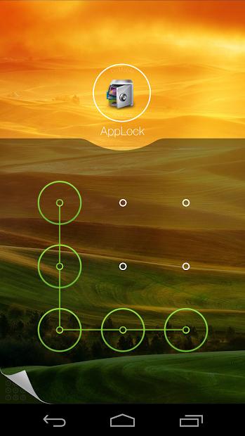 AppLock Theme Hill screenshot 1