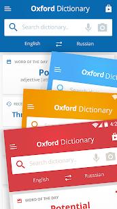 Oxford Russian Dictionary v9.1.363 [Premium + Mod] APK 4