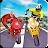 New Bike Attack Race - Bike Tricky Stunt Riding Icône