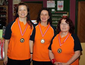 Photo: Trio Damen – 3. Platz: BC Traun