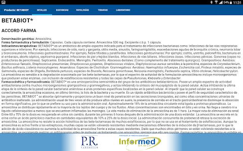 PR Vademécum Informed screenshot 9