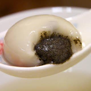 Sesame Glutinous Rice Balls.